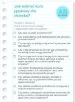 Jak wybrać kurs językowy dla dziecka?