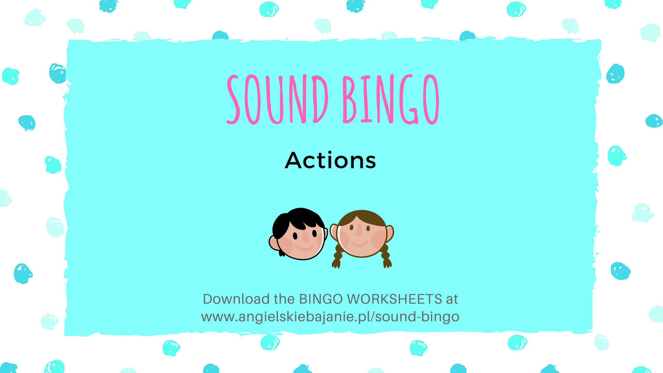 Bingo worksheet download