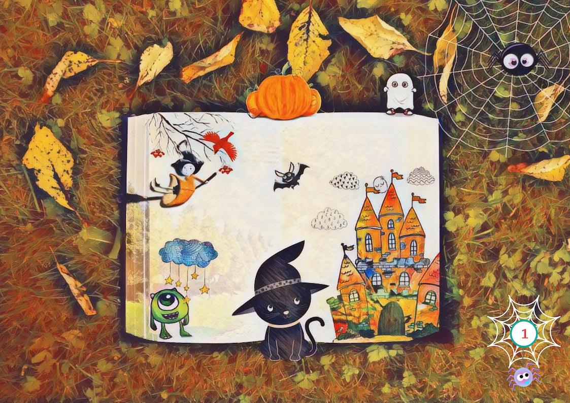 Halloween I Spy poster