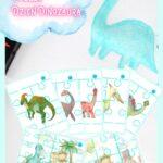 Dinosaurs Flashcards Puzzle