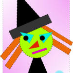 Halloween ideas: shapes craft