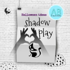 Halloween - shadow play - teatrzyk cieni