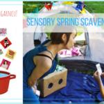 Sensory Spring Scavenger Hunt