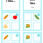 Mini-Veggies: mini-flashcards, mini-wordcards and a mini-game
