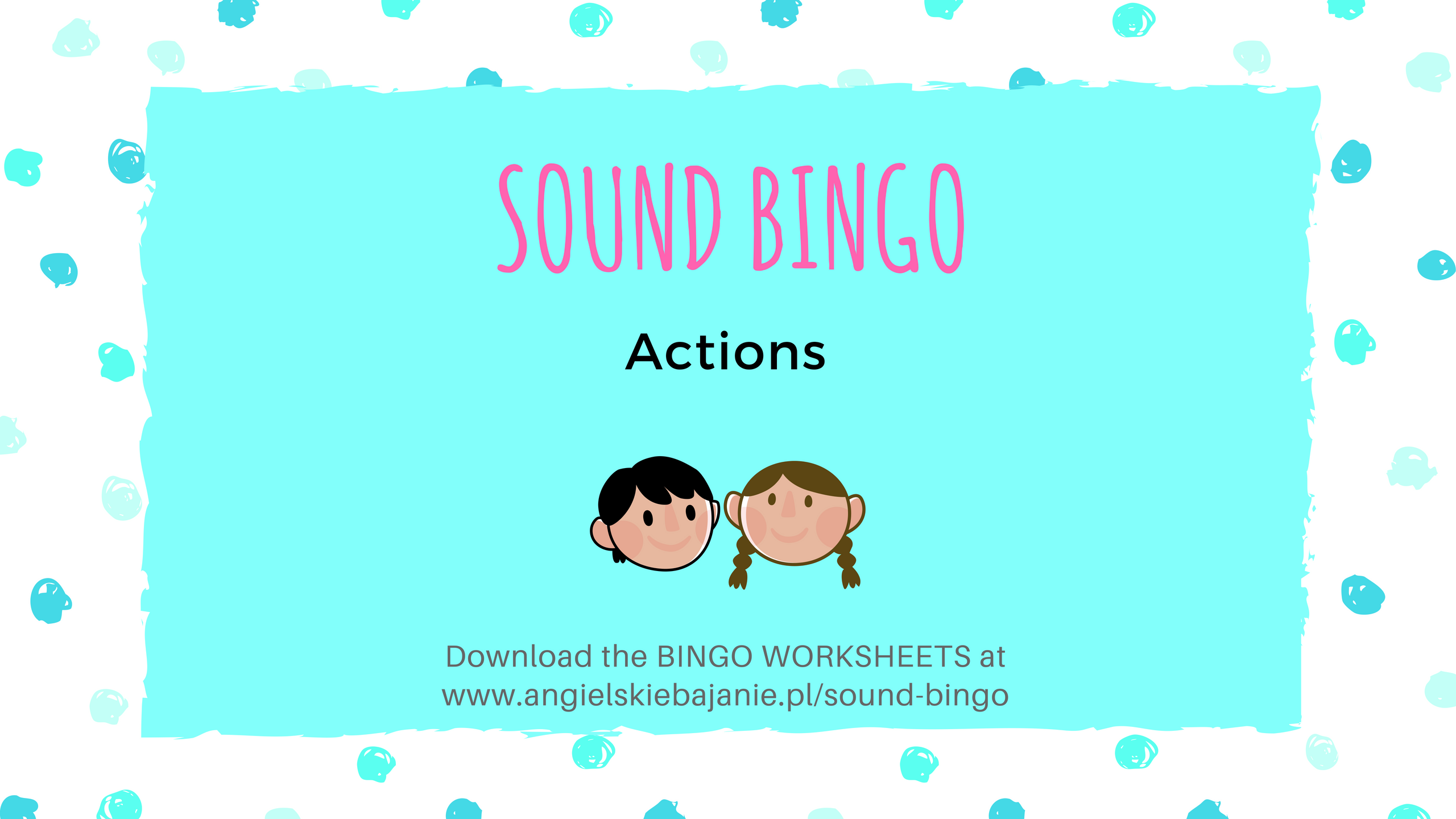 Bingo worksheet download