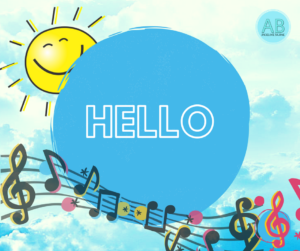 Hello, greetings English songs and stories