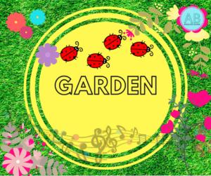 Garden. Songs, stories and cartoon