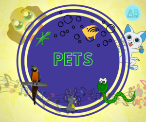 Pets. Songs, stories and cartoons
