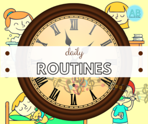 Daily routine Songs, stories and cartoons