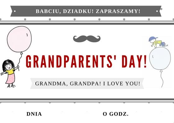 Zaproszenie na dzień babci i dziadka